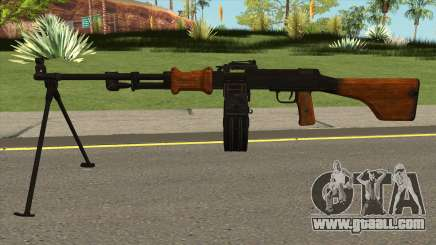 RPD Light Machine Gun for GTA San Andreas
