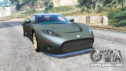 Spyker C8 Aileron 2009 [add-on] for GTA 5