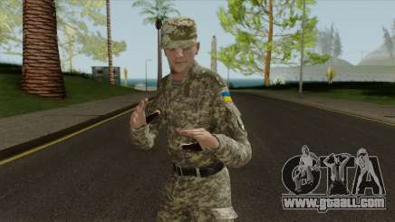 An Officer Of The Armed Forces Of Ukraine for GTA San Andreas