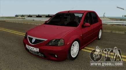 Dacia Logan 2007 for GTA San Andreas