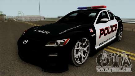 Mazda RX-8 Police SCPD 2011 for GTA San Andreas