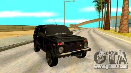 Lada Niva for GTA San Andreas