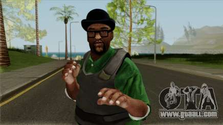 Big Smoke Vest Skin (Legacy Version) for GTA San Andreas