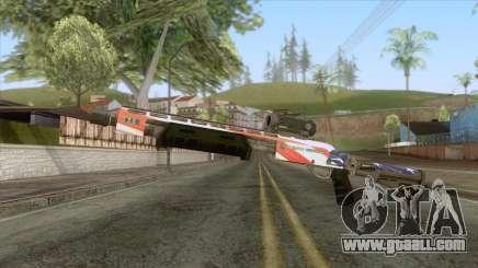 The Doomsday Heist - Shotgun v2 for GTA San Andreas