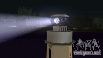 Searchlights for GTA San Andreas