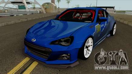 Subaru BRZ LM Race Car for GTA San Andreas