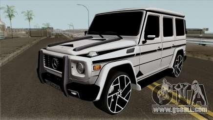 """Mercedes-Benz G65 """"Bandit"""" for GTA San Andreas"""