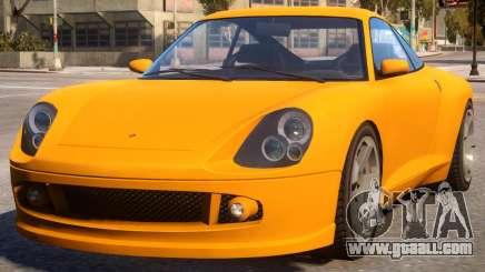 Comet to Porsche 911 turbo S for GTA 4