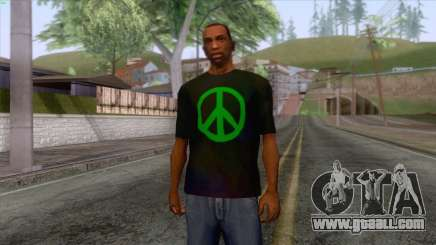 Hippie T-Shirt 1 for GTA San Andreas