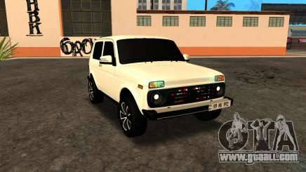 Niva Dorjar Armenian for GTA San Andreas