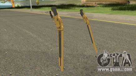 Gold Winchester M1887 for GTA San Andreas
