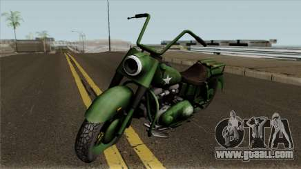 Motorcycle Game Ride To Hell - Retribution for GTA San Andreas