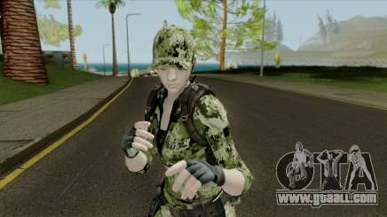 Jill Valentine for GTA San Andreas