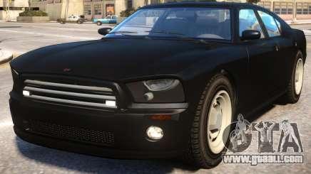 FBI Buffalo to Dodge Charger SRT8 v2 for GTA 4