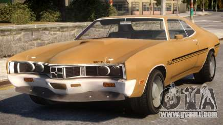 1970 Mercury Cyclone Spoiler for GTA 4