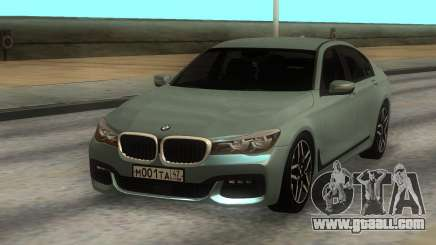 BMW 750i Xdrive for GTA San Andreas