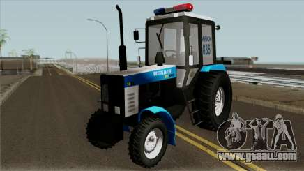 MTZ-80 Belarus Police for GTA San Andreas