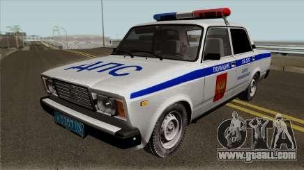 VAZ-2107 Police of the city of Yaroslavl for GTA San Andreas