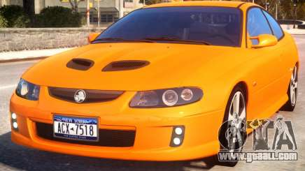 Holden Monaro v2 for GTA 4