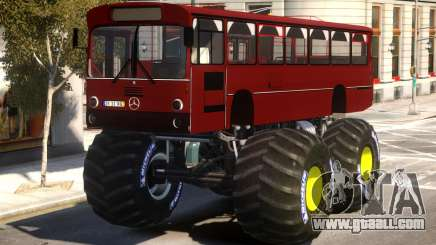 Bus Monster Truck V2 for GTA 4