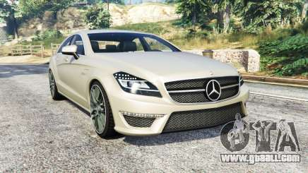 Mercedes-Benz CLS 63 AMG (C218) v1.3 [replace] for GTA 5