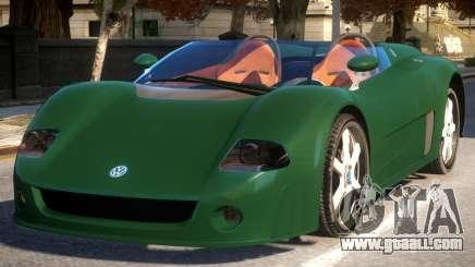 Volkswagen W12 Concept for GTA 4