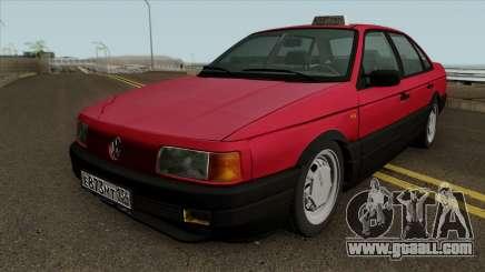 Volkswagen Passat B3 v2 RUS Plates IVF for GTA San Andreas