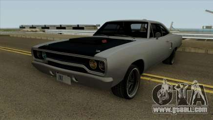 Plymouth Road Runner Fast and Furious 7 1970 for GTA San Andreas