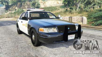 Ford Crown Victoria Sheriff CVPI [replace] for GTA 5