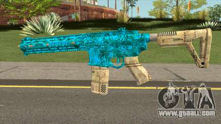 Gunnruning Carbine MK2 Origins Camo for GTA San Andreas