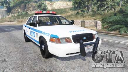 Ford Crown Victoria NYPD CVPI v1.1 [replace] for GTA 5