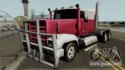 Roadtrain Looking Beta for GTA San Andreas