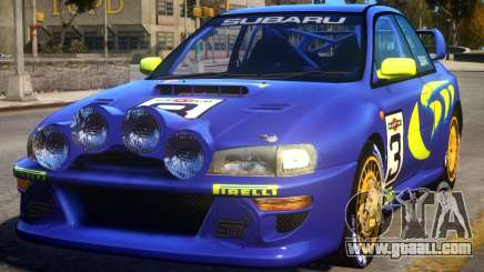 1998 Subaru Impreza WRC - PURPLE for GTA 4