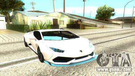 Lamborghini Huracan for GTA San Andreas