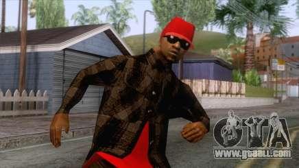 Crips & Bloods Ballas Skin 3 for GTA San Andreas