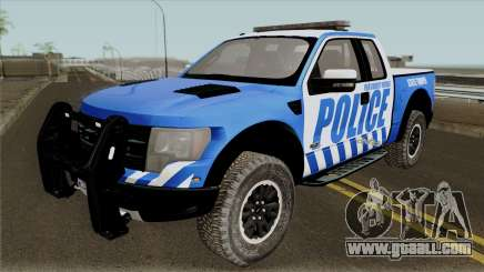 Ford F-150 Raptor 2016 Red County Police for GTA San Andreas