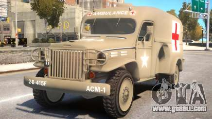 World War II Ambulance for GTA 4