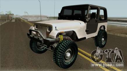 Jeep Wrangler Rustico for GTA San Andreas