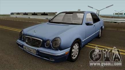 Mercedes-Benz E-Klasse W210 E420 Avantgarde 1999 for GTA San Andreas