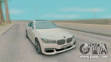 BMW 7-er G11 2015 for GTA San Andreas
