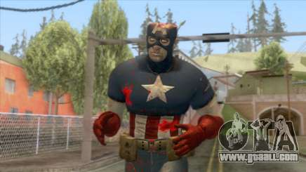 Marvel Zombies - Coronel America for GTA San Andreas