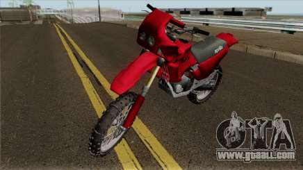Aprilia Tuareg 125 for GTA San Andreas