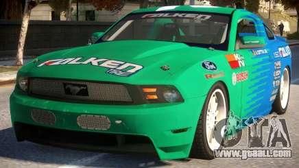 Mustang Vaughn Gittin for GTA 4