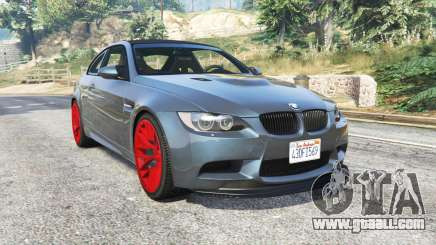 BMW M3 GTS (E92) 2010 real taillight [add-on] for GTA 5