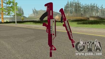 Bullpup Rifle Pink GTA V for GTA San Andreas