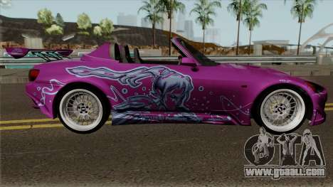Honda S2000 Suki F2F 2001 for GTA San Andreas
