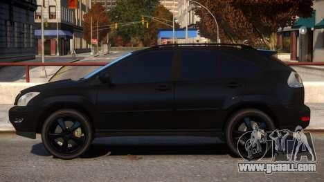 Lexus RX350 for GTA 4