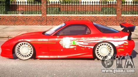 Mazda RX7 for GTA 4