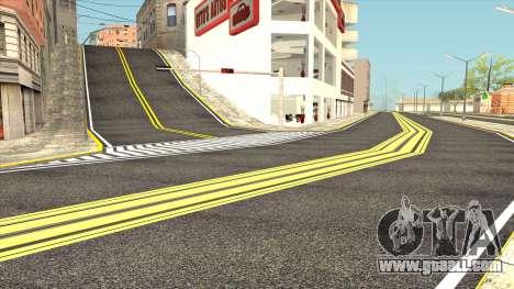 New San Fierro Roads and New Tram Station for GTA San Andreas third screenshot