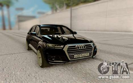 Audi Q7 3.0 TDI Quattro 2016 for GTA San Andreas
